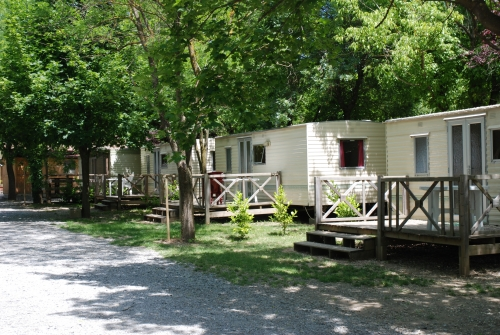 Location - Mobil-Home - Camping Les Rives d'Auzon