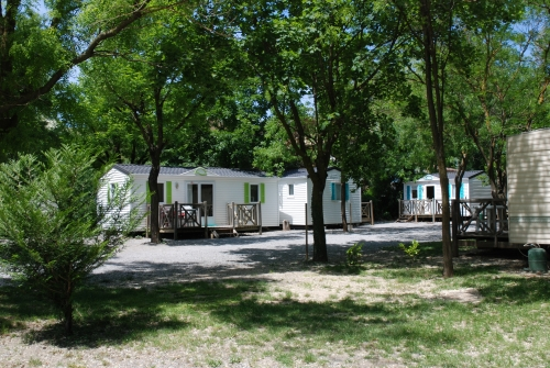 Location - Mobil-Home Confort Plus - Camping Les Rives d'Auzon