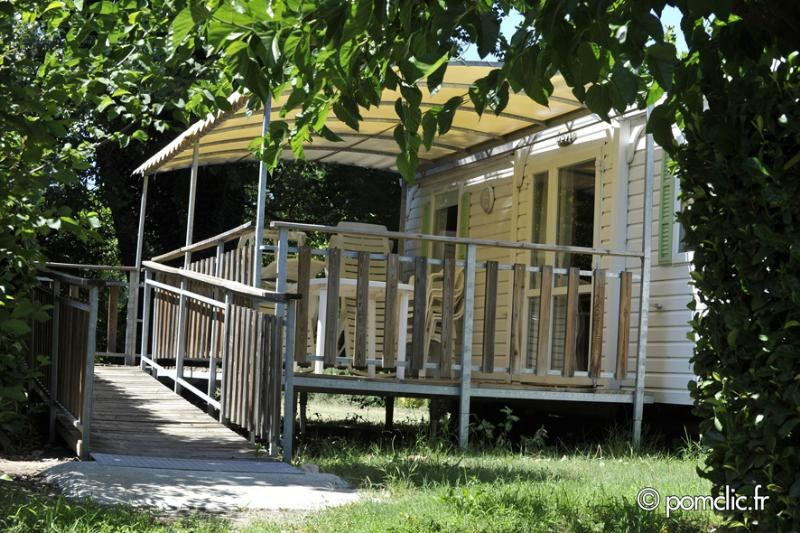Accommodation - Mobil Home - Camping du Cros d'Auzon