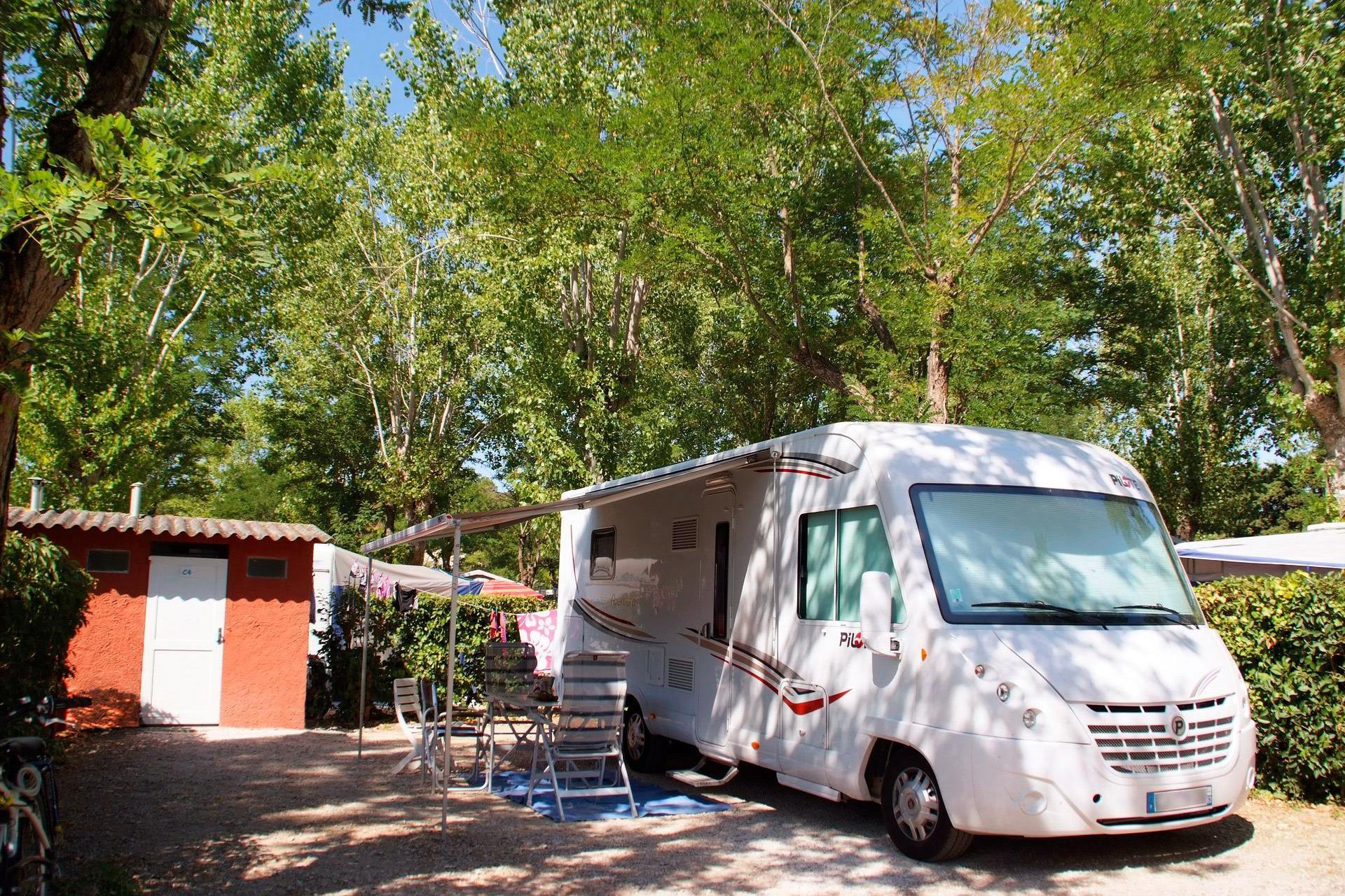 Emplacement - Emplacement *** (Sanitaires Privés) - Camping Sandaya Riviera d'Azur
