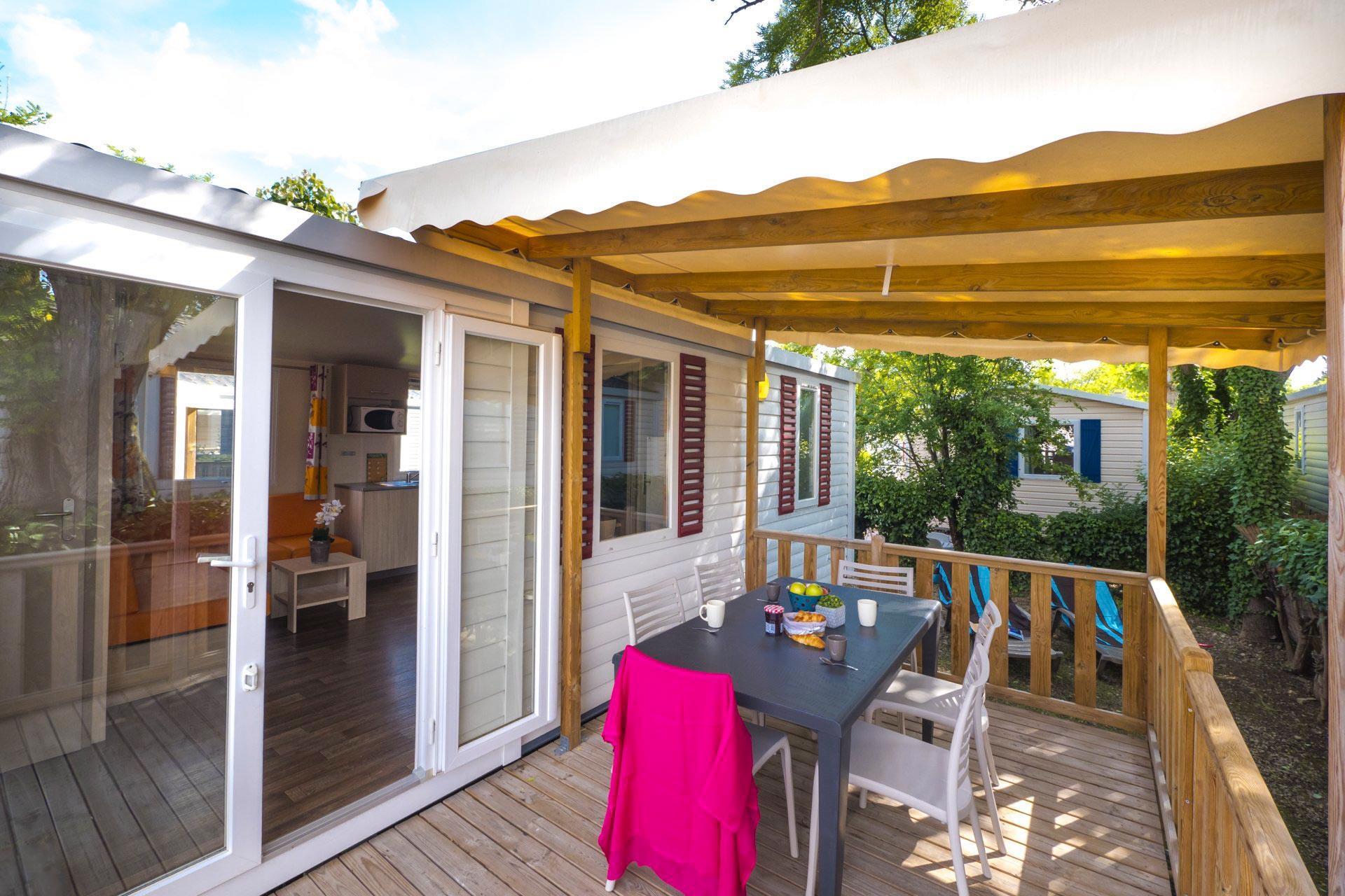 Location - Cottage 2 Chambres Climatisé *** 31M² - Camping Sandaya Riviera d'Azur