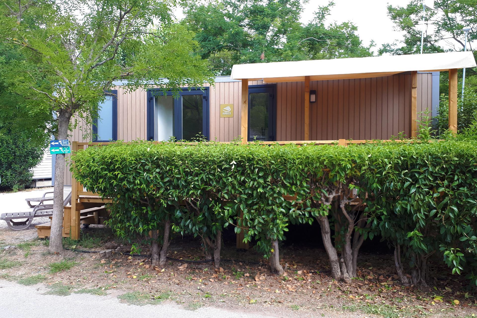 Location - Cottage 2 Chambres Climatisé**** - Camping Sandaya Riviera d'Azur