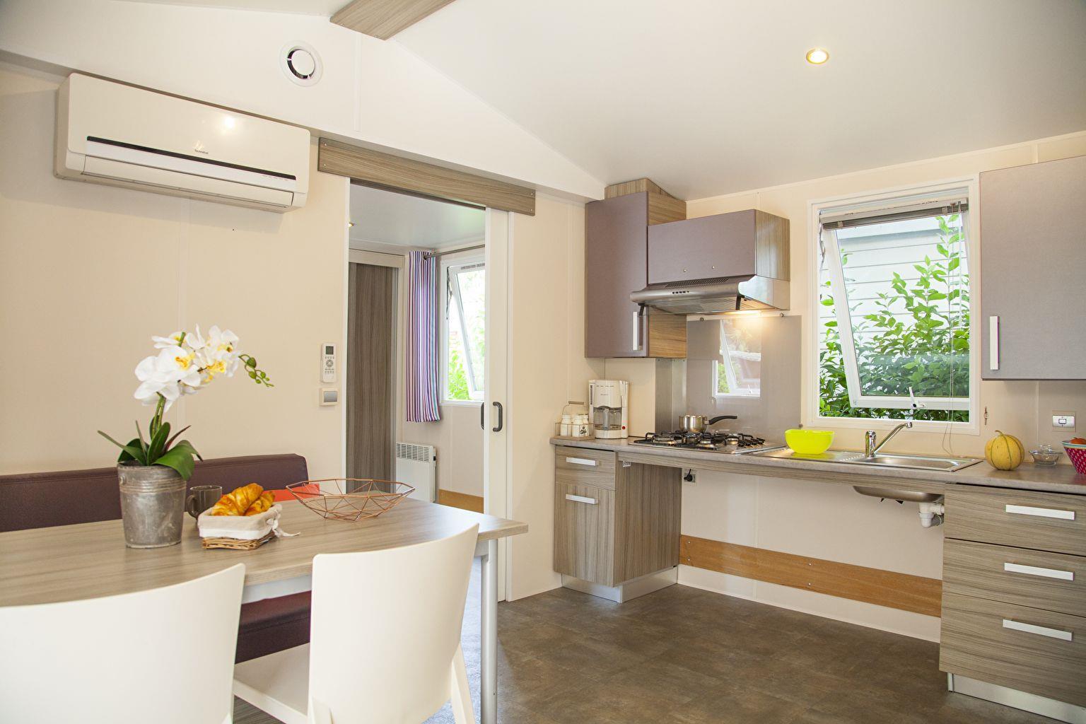 Location - Cottage 2 Chambres *** Adapté Aux Personnes À Mobilité Réduite - Camping Sandaya Riviera d'Azur
