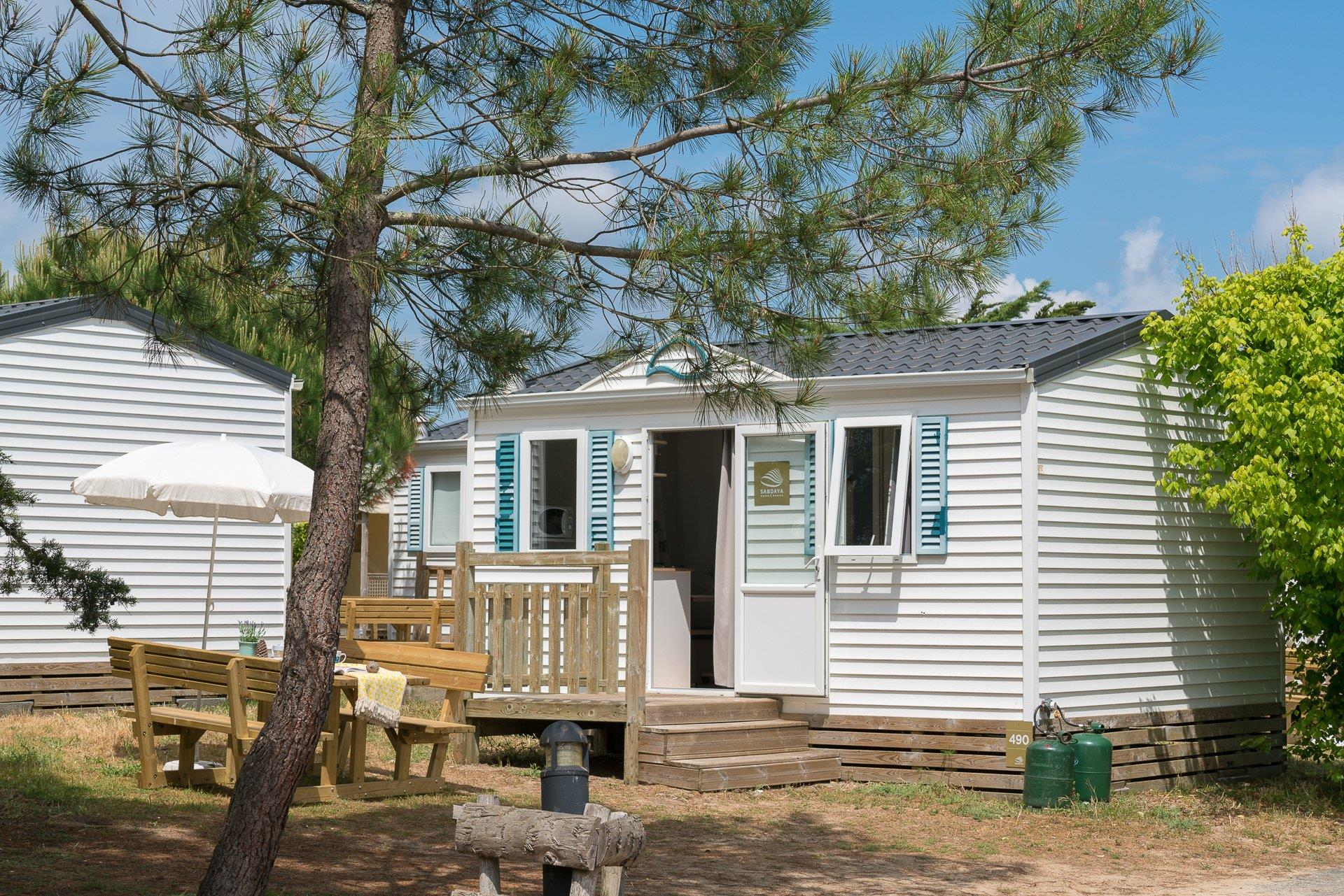 Location - Cottage 2 Chambres ** - Camping Sandaya Domaine Le Midi