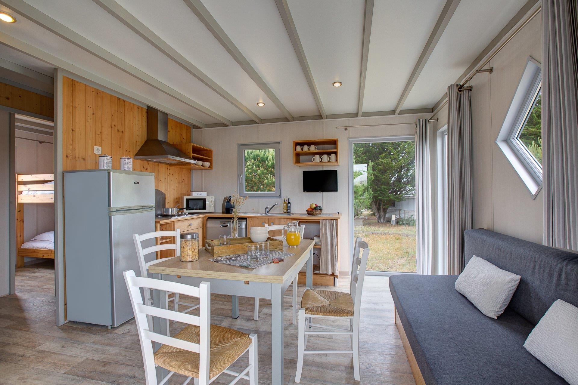 Location - Cottage - 3 Chambres **** - Camping Sandaya Domaine Le Midi