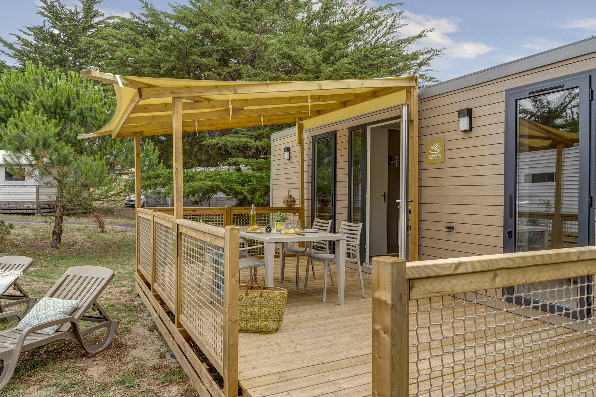 Location - Cottage 2 Chambres**** - Camping Sandaya Domaine Le Midi