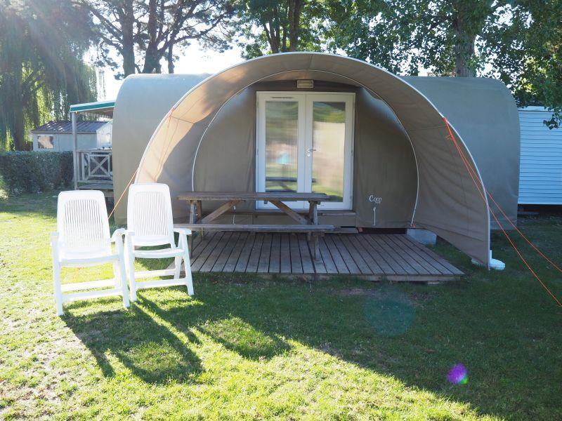 Location - Tente Lodge Coco 2 Chambres - Chadotel Camping La Trevillière