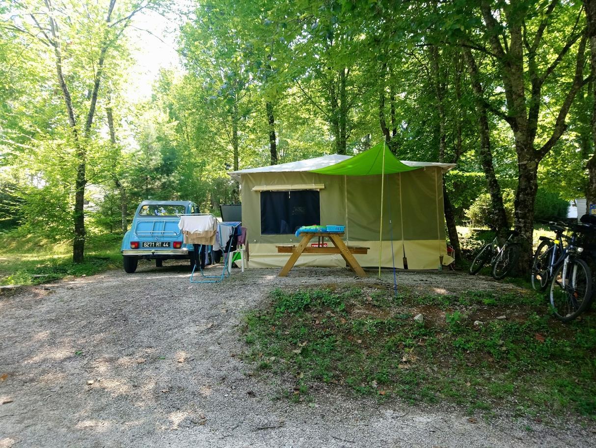 Camping la Fage, La Chapelle-Aubareil, Dordogne