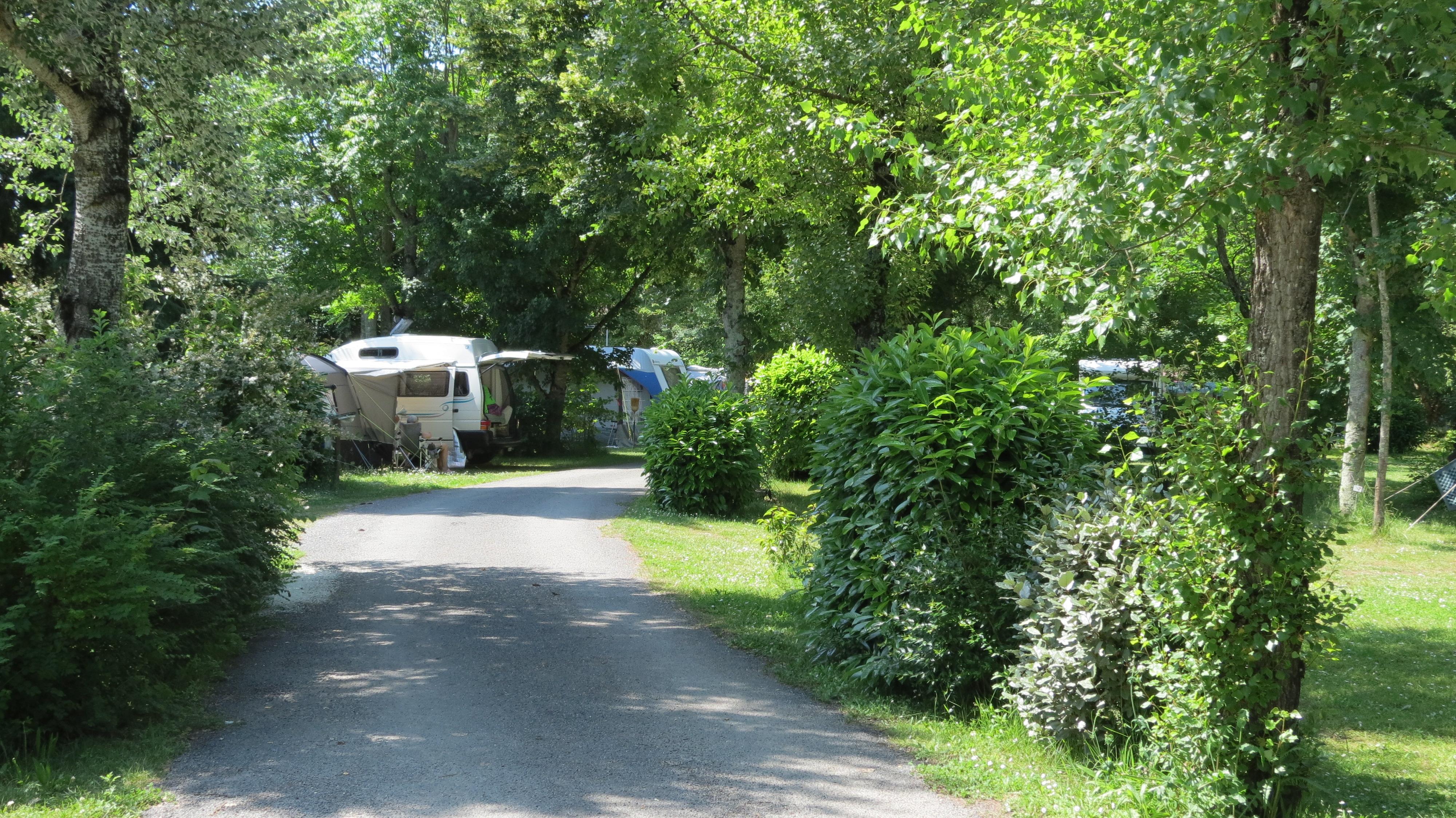 Camping le Bosquet, Domme, Dordogne