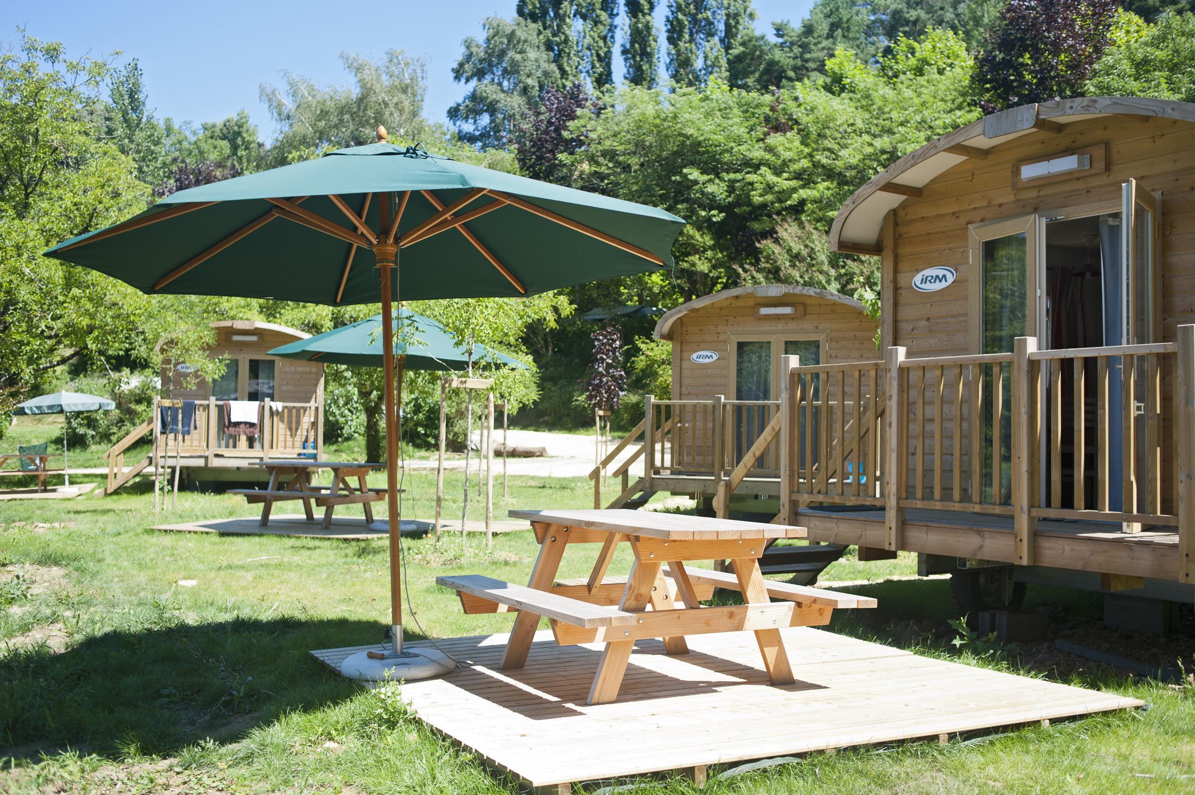 Camping Huttopia Sarlat, Sarlat-la-Caneda, Dordogne