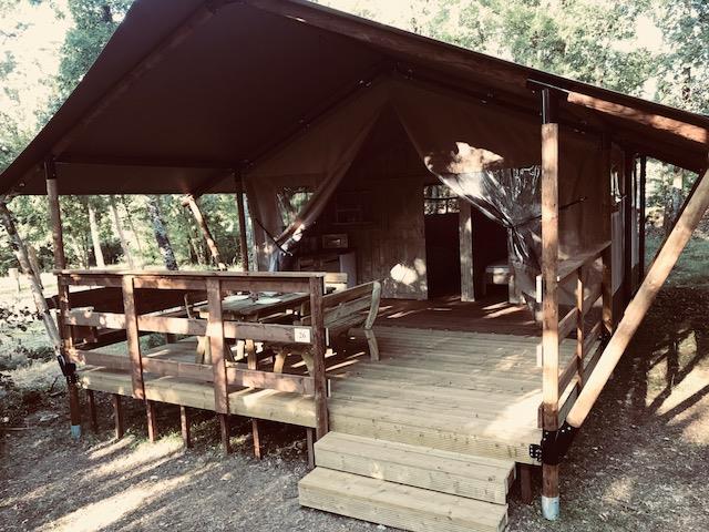 Camping la Peyrugue, Daglan, Dordogne
