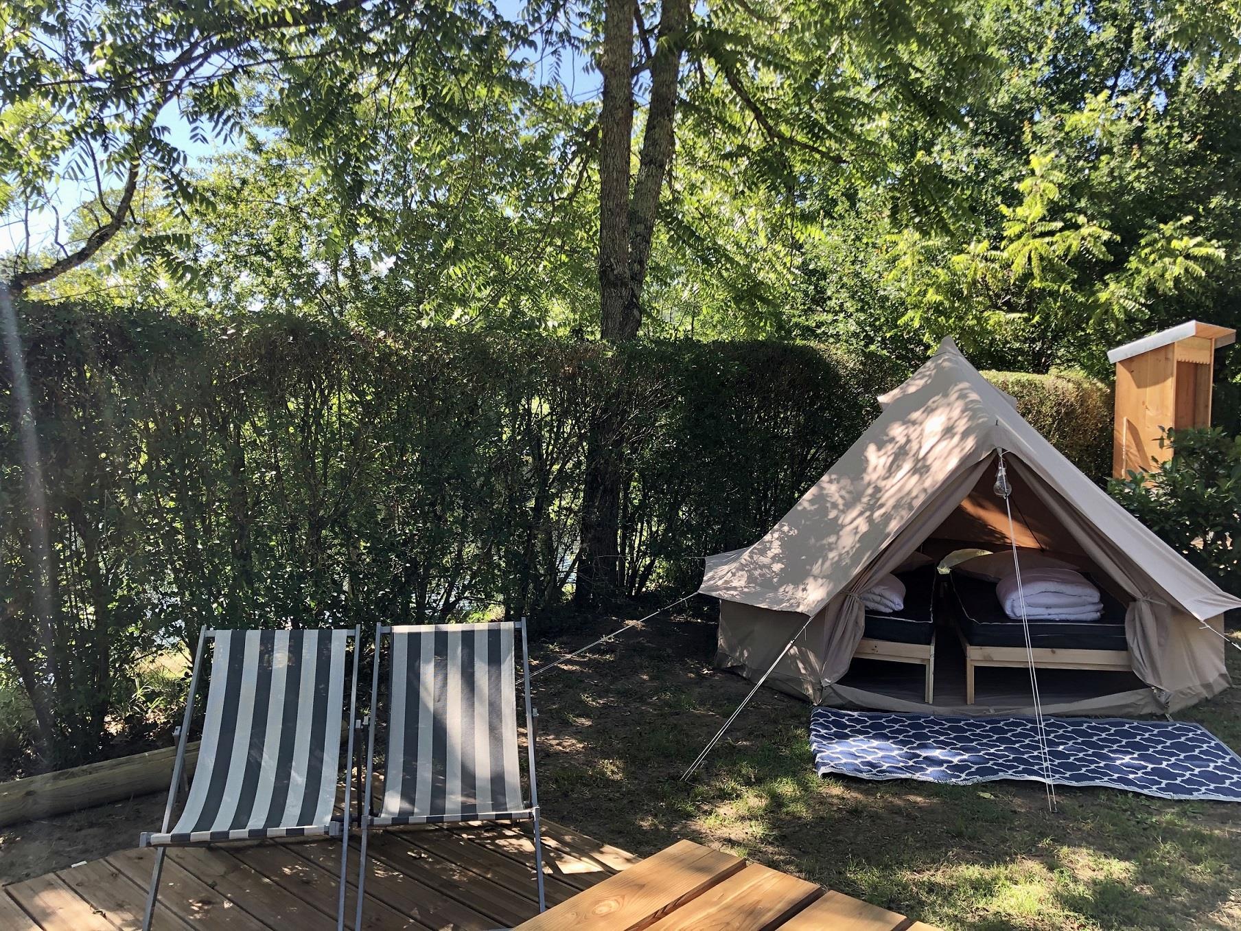Location - Glamtent Nouveau - Camping Le Capeyrou