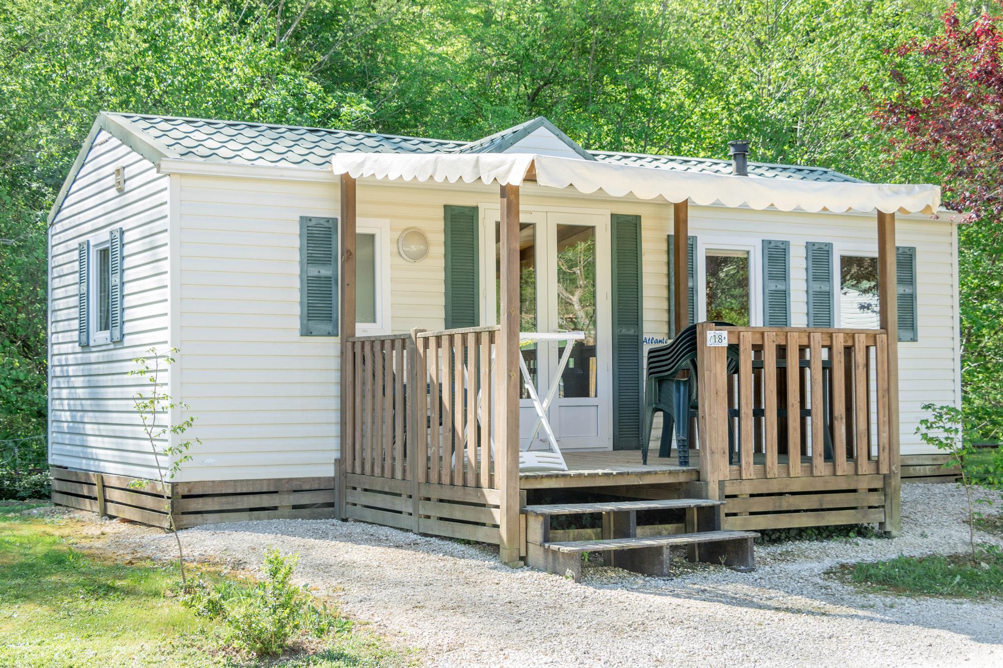 Location - Mobil Home Atlante - Camping Village le Moulin de Surier