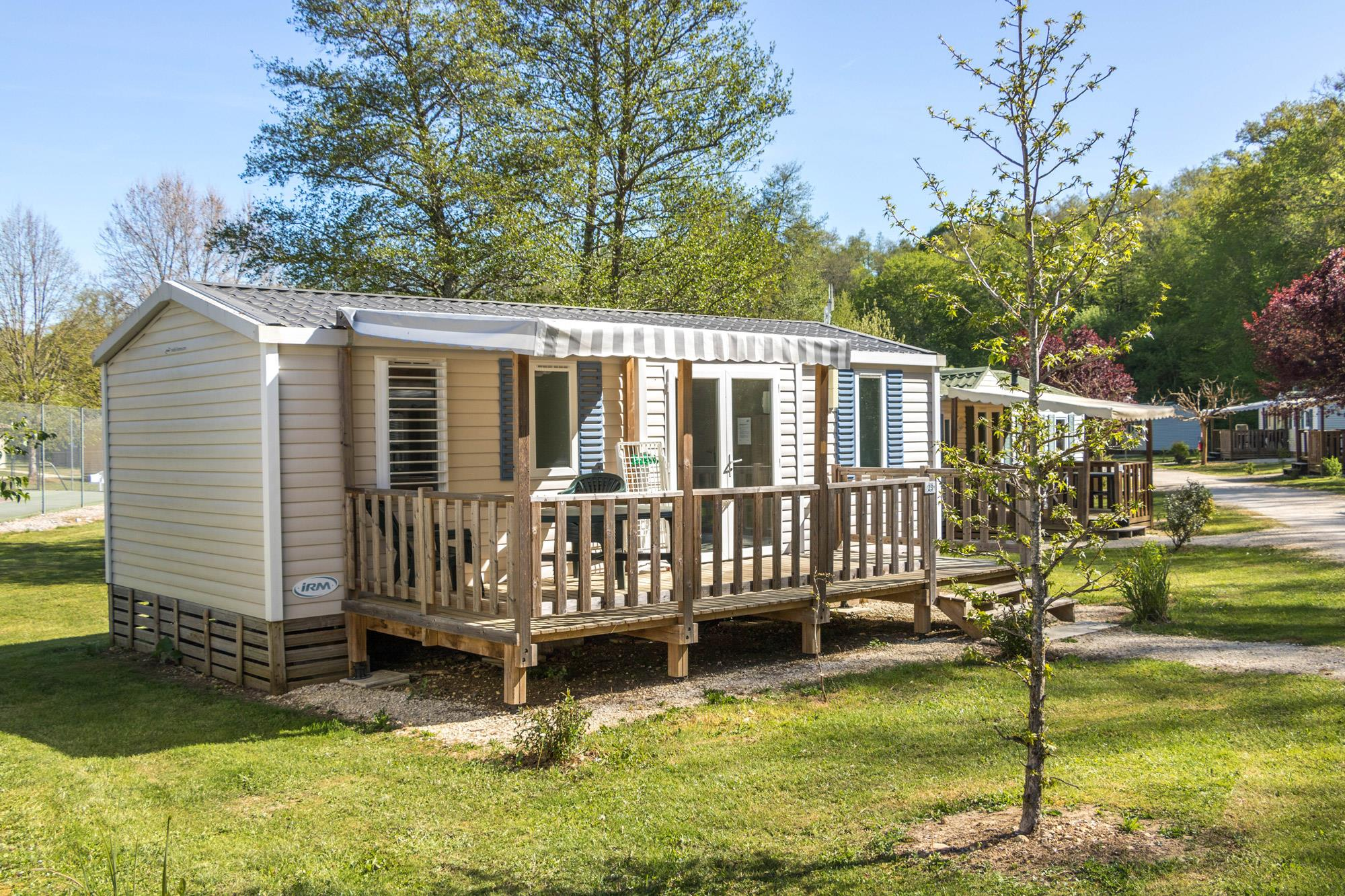Location - Mobil Home Pacific - Camping Village le Moulin de Surier