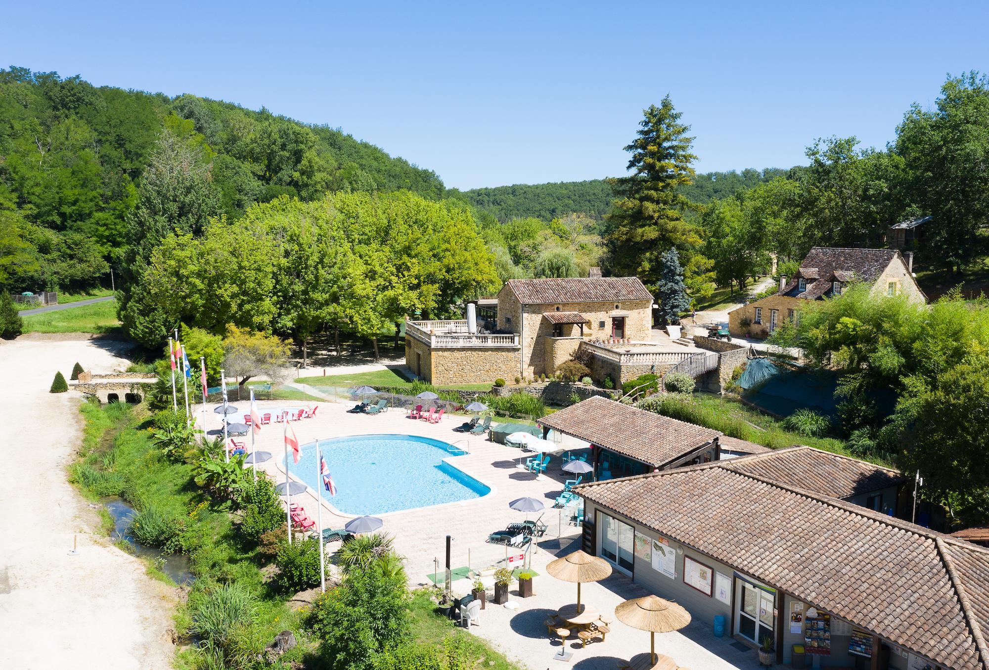 Camping le Moulin de Surier, Beaumont-du-Périgord, Dordogne