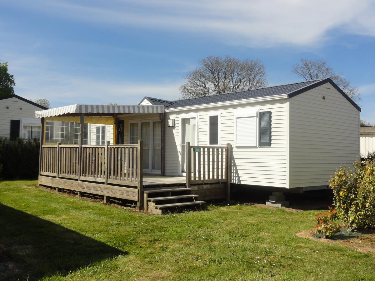 Location - Atlantique Privilège 3 Chambres + Tv. - Camping du Haras