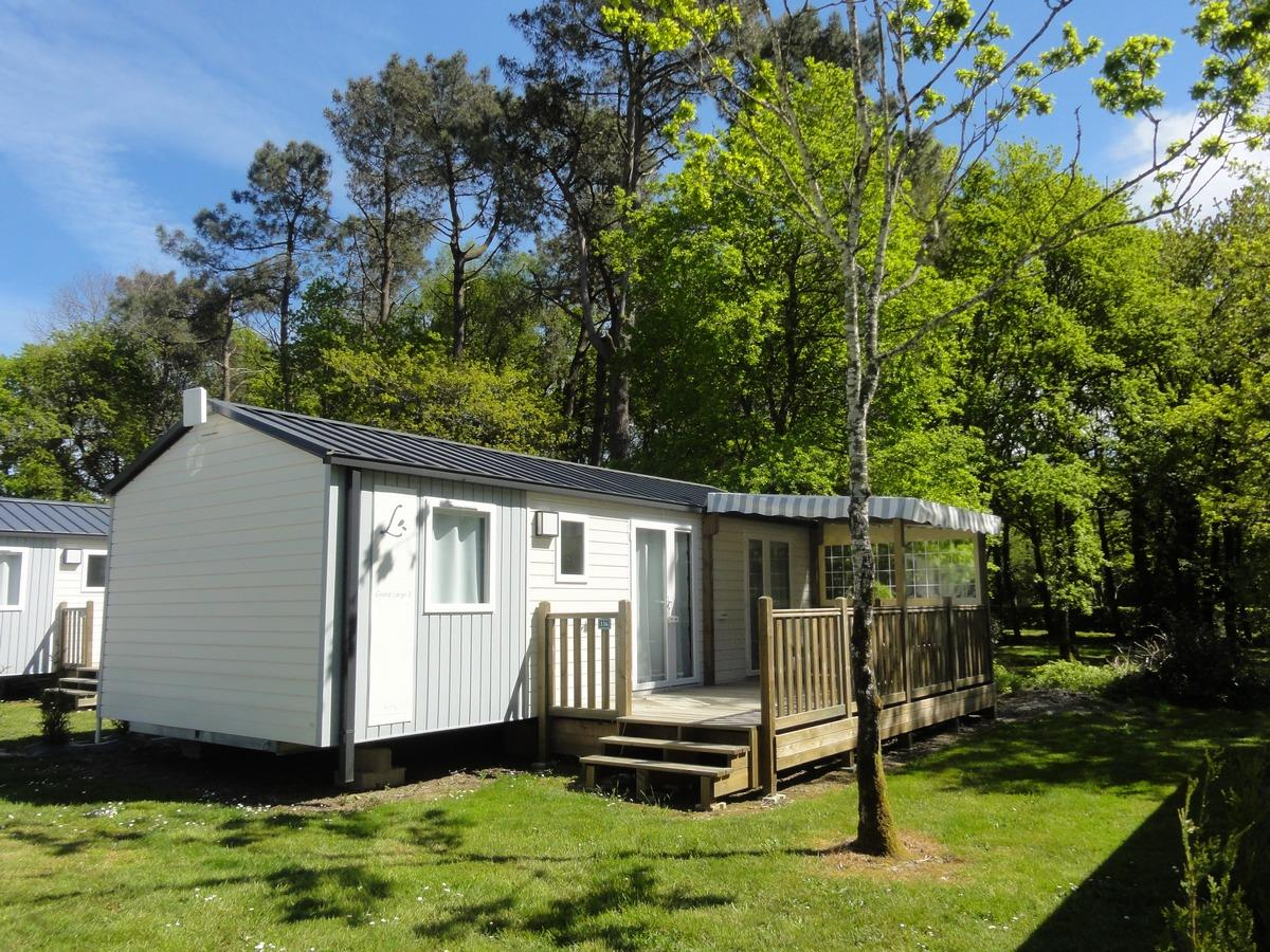 Location - Grand Large 3 Chambres + Tv - Camping du Haras