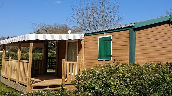 Location - C.R.L 2 Chambres + Tv - Camping du Haras