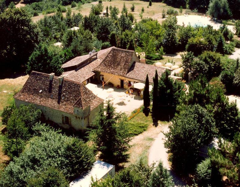 Camping la Grande Veyiere, Molieres, Dordogne