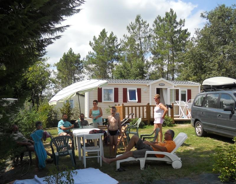 Location - Cottage Sauvignon 3 Chambres Très Récent - Camping Sites et Paysages Etang de Bazange