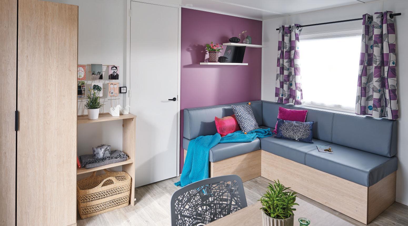 Location - Nouveauté 2020 ! Cottage Neuf Tribu 40 M² - 4 Chambres Dont 1 Transformée En Salle De Jeux Enfants - Télévision - Camping Sites et Paysages Etang de Bazange