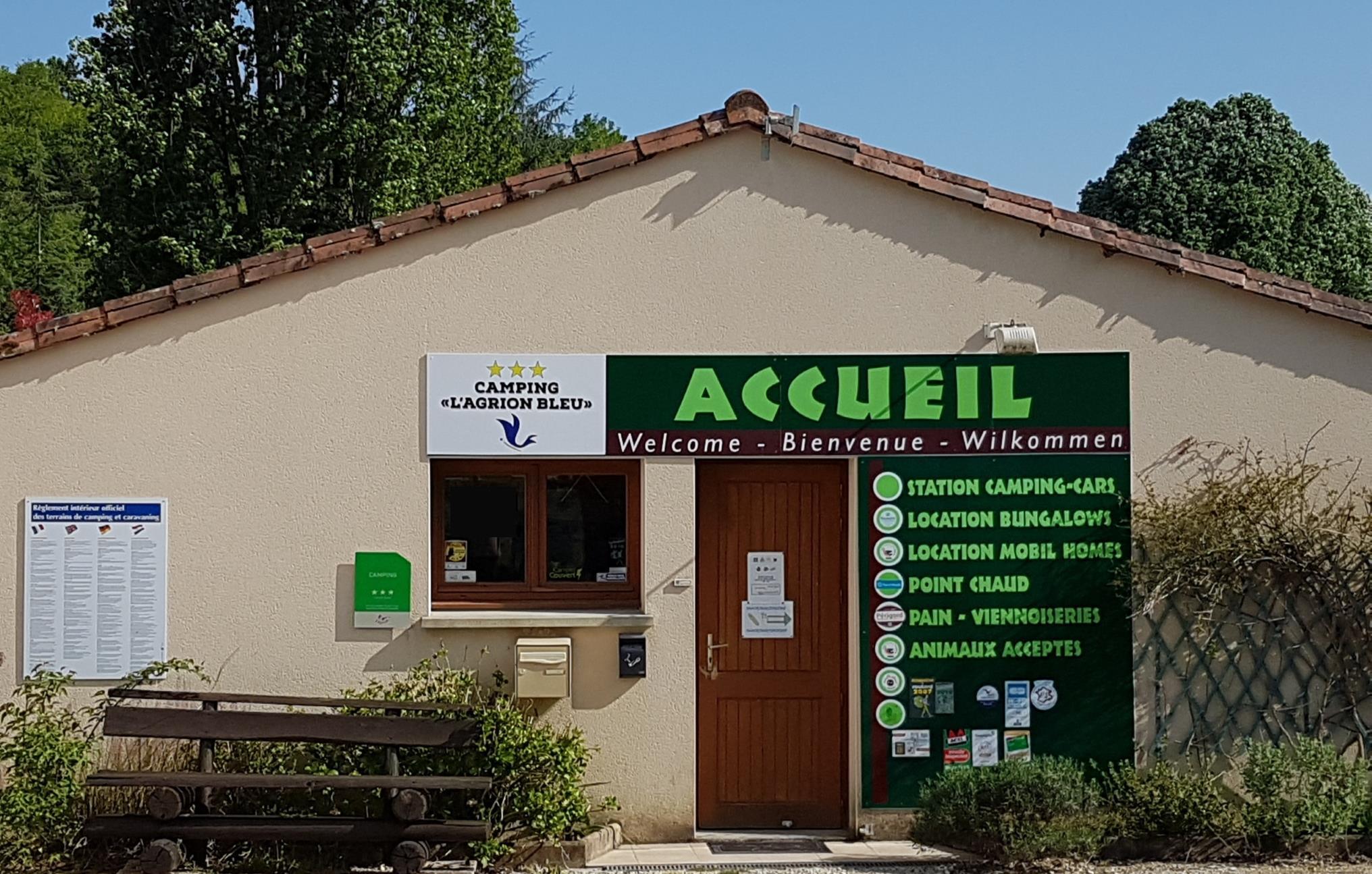 Camping l'Agrion Bleu, Saint-Martial-de-Valette, Dordogne