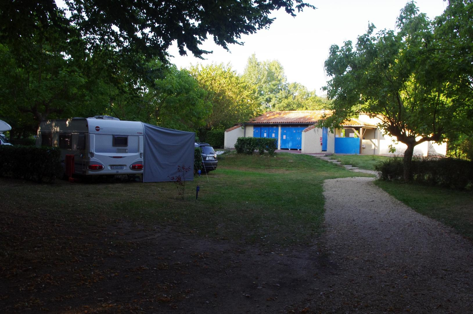 Camping le Pontet, Saint-Astier, Dordogne