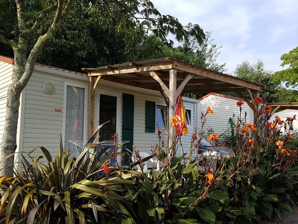 Location - Mobil-Home Azur Special Couple - Camping UR-ONEA