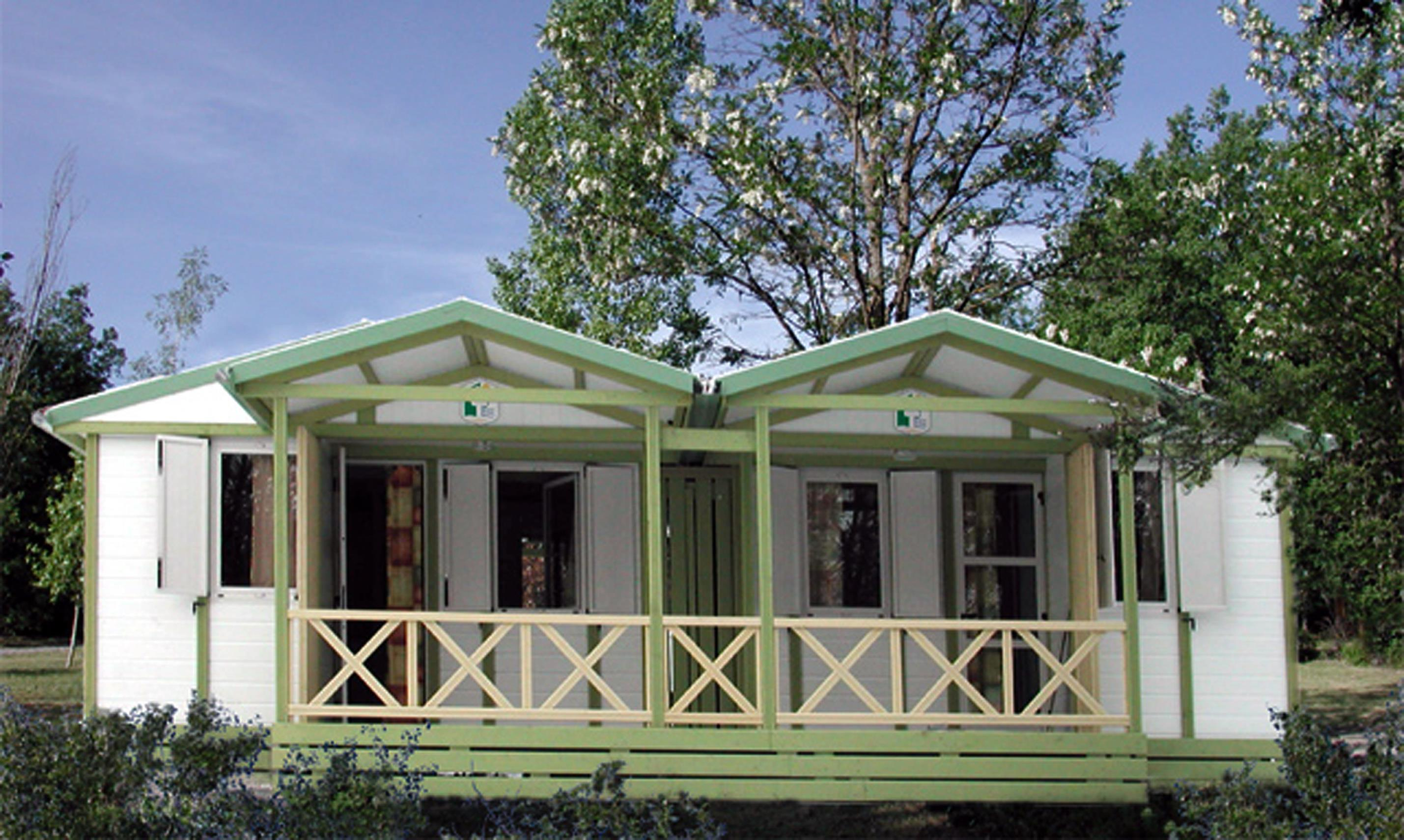 Location - Chalet Hll Grand Trianon - Camping Les Bonnets