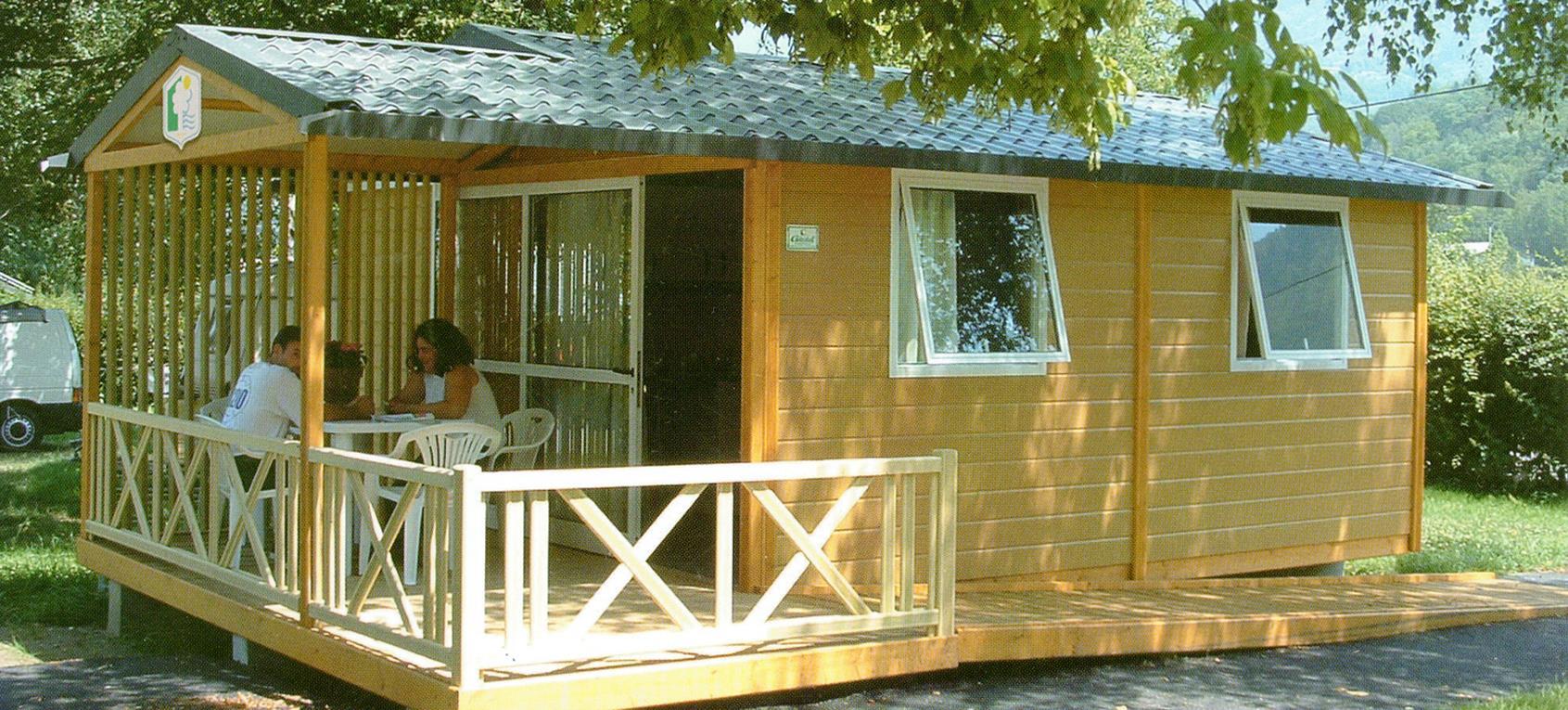 Location - Chalet Access Pmr - Camping Les Bonnets