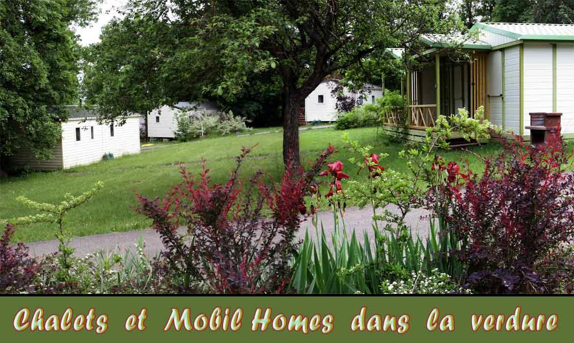 Location - Chalet Hll Trianon - Camping Les Bonnets