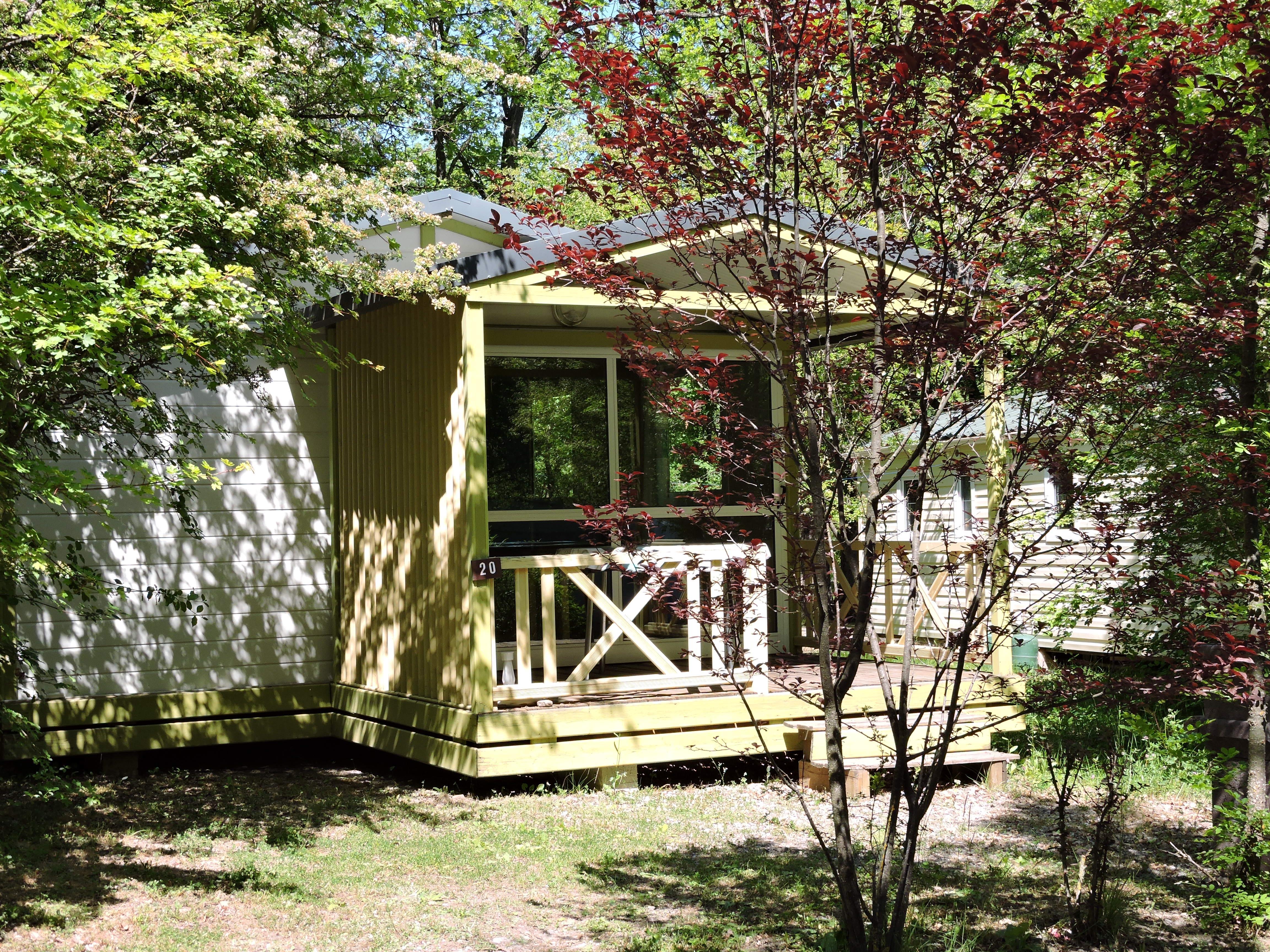 Location - Chalet Club //Morea - Camping Les Bonnets