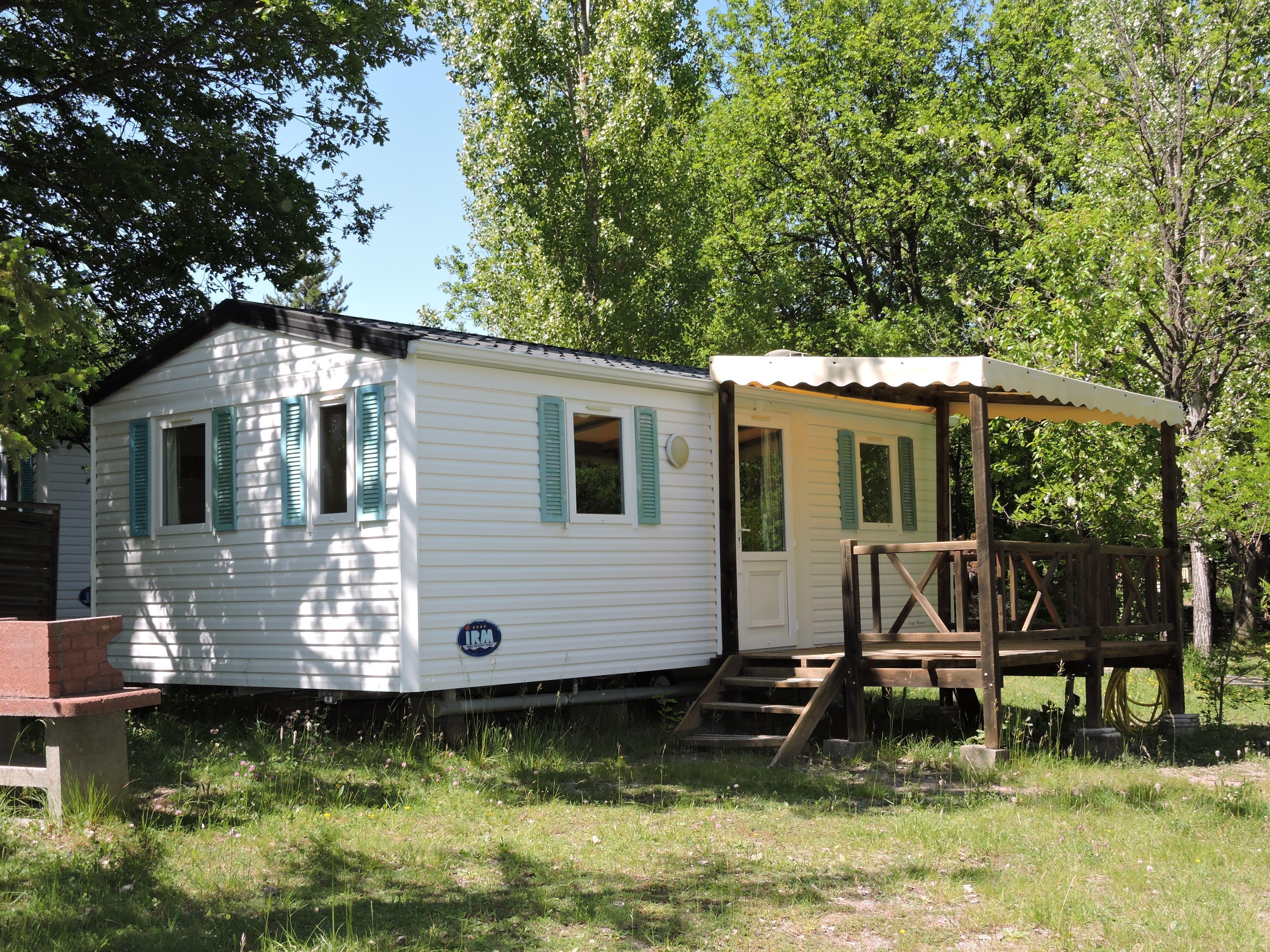 Location - Mobil Home Grand Confort - Camping Les Bonnets
