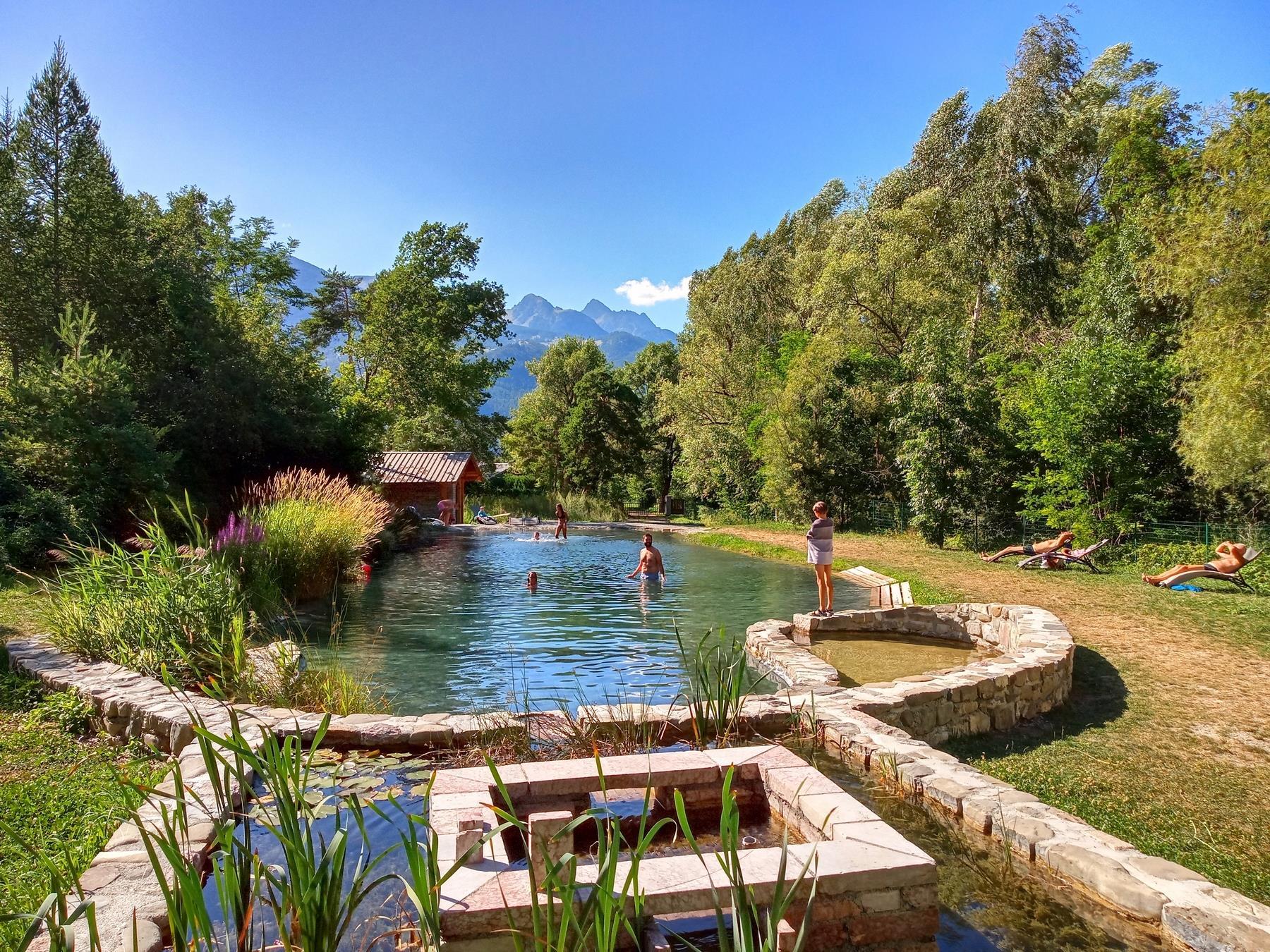Camping Saint James les Pins, Guillestre, Hautes-Alpes