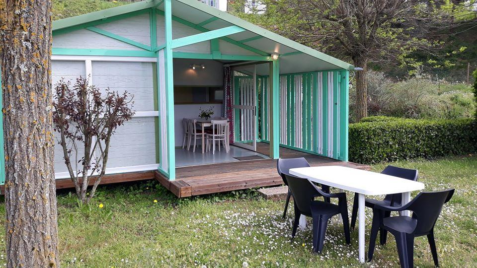 Domaine Camping les Roches, Le Crestet, Ardèche