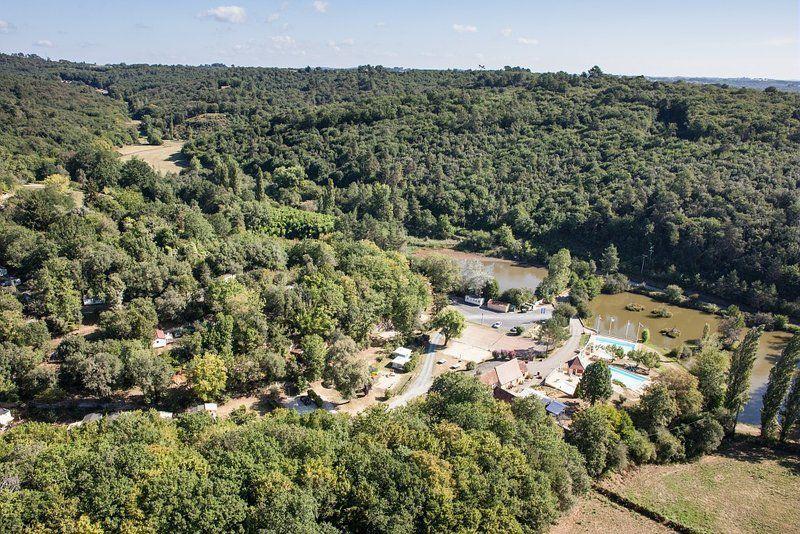 Camping le Val d'Ussel, Proissans, Dordogne