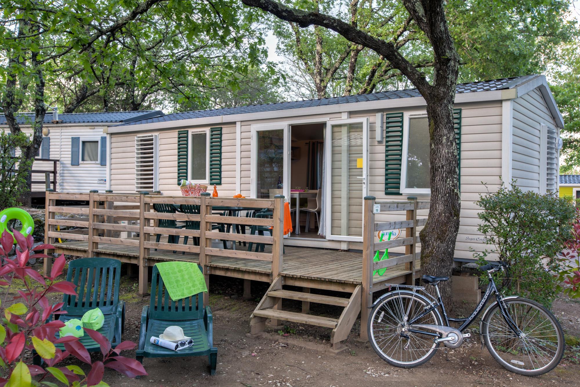 Location - Sunêlia Confort 3 Chambres - Camping Sunêlia Le Ranc Davaine