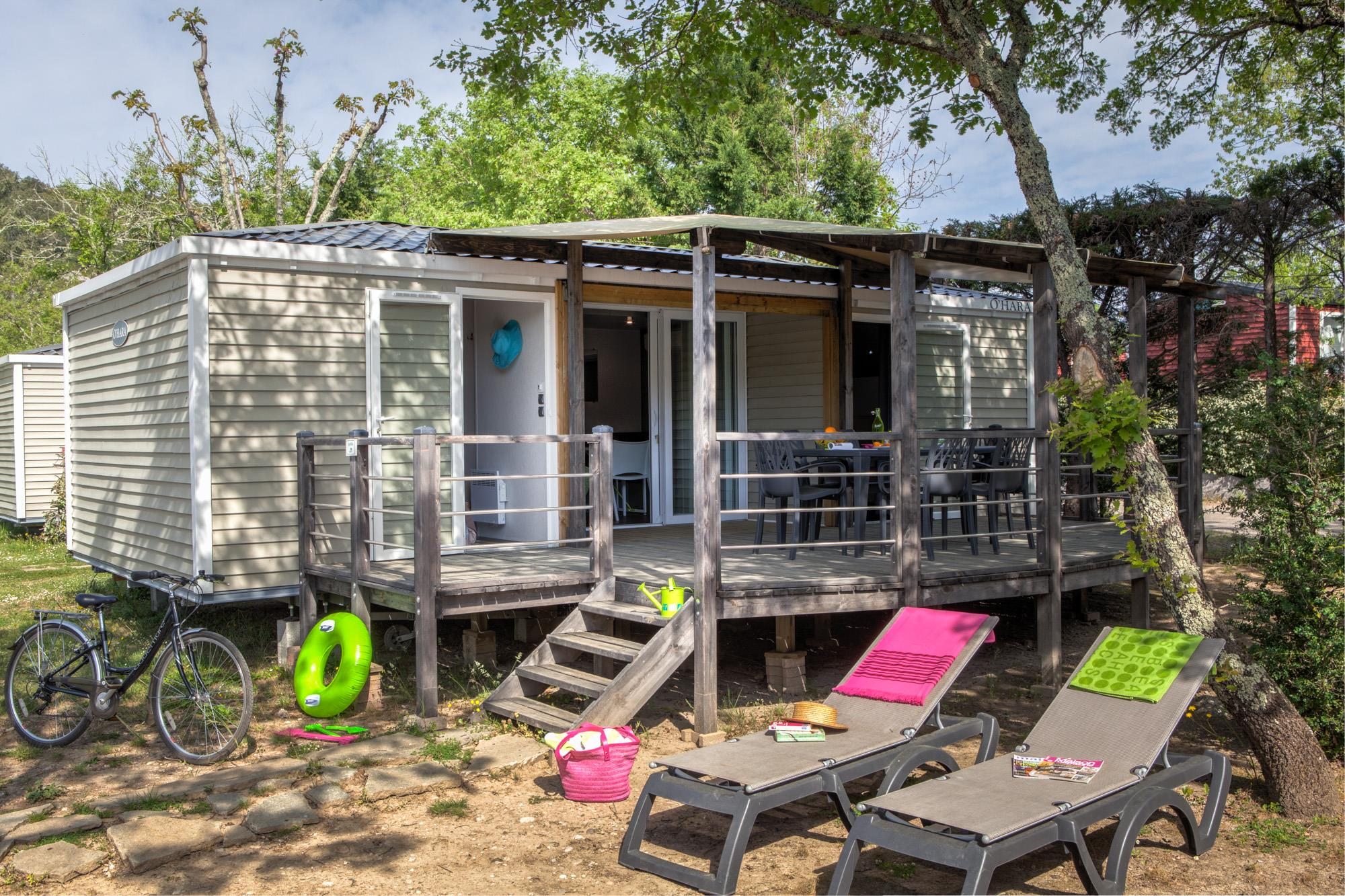 Location - Sunêlia Prestige 2 Chambres - Camping Sunêlia Le Ranc Davaine