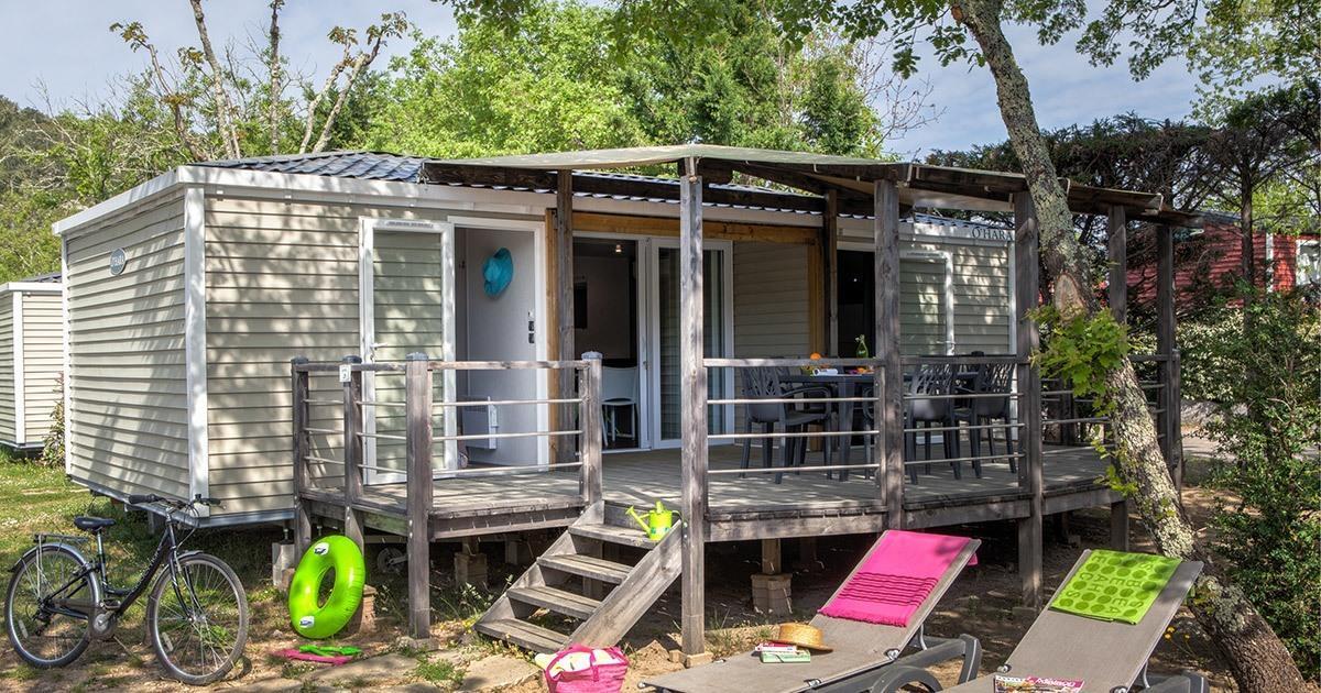 Location - Sunêlia Prestige Premium 2 Chambres - Camping Sunêlia Le Ranc Davaine