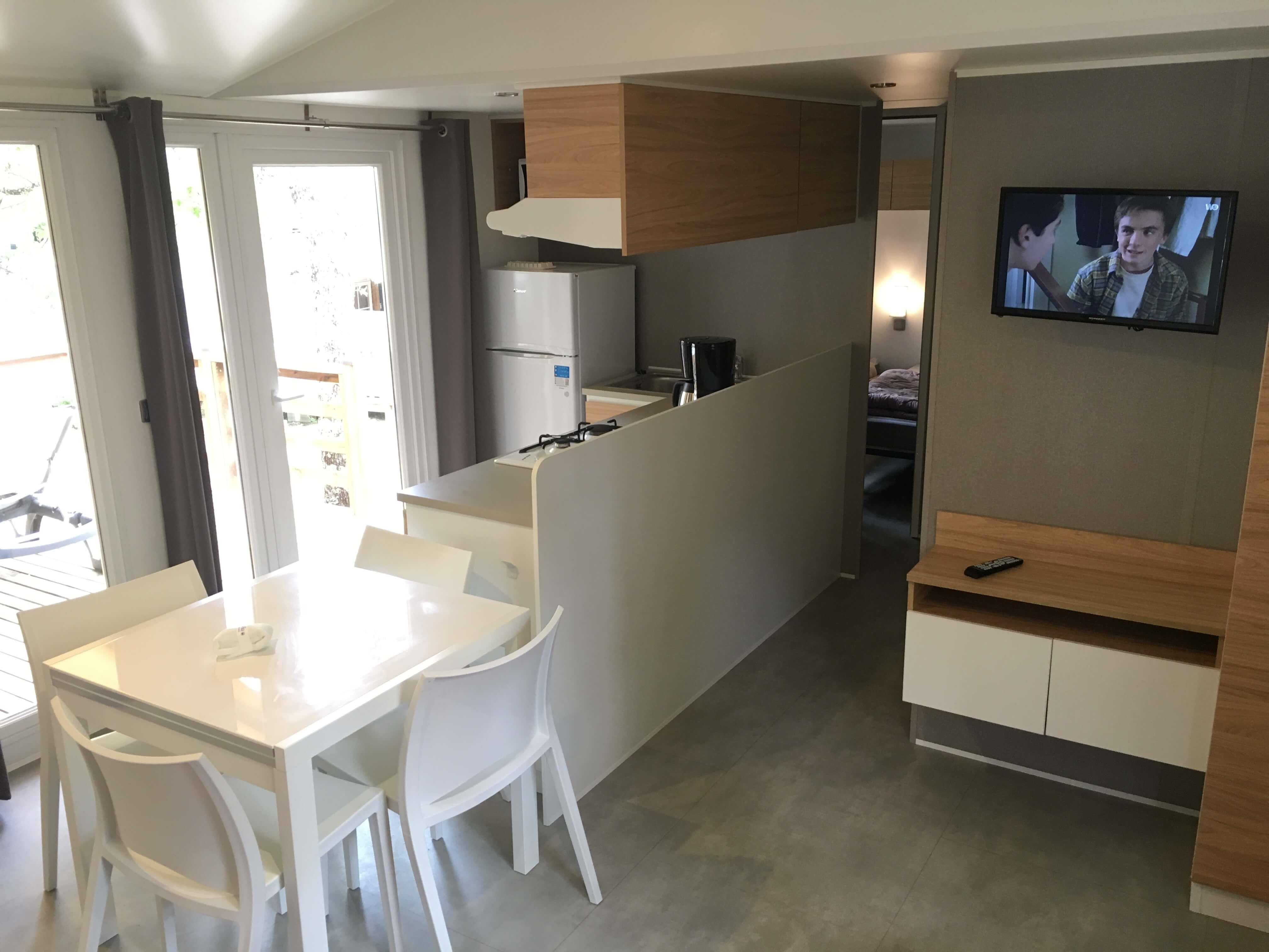 Location - Sunêlia Prestige Premium 3 Chambres - Camping Sunêlia Le Ranc Davaine