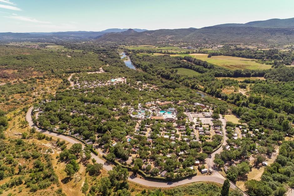 Camping le Ranc Davaine, Ruoms, Ardèche