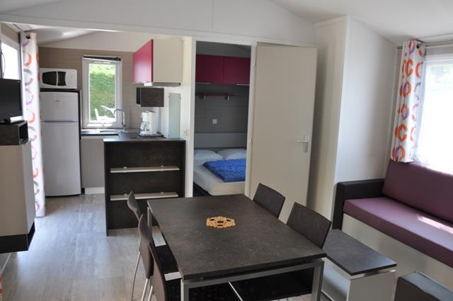 Mobile Home Grand Confort 30M² / 2 Bedrooms - Covered Terrace
