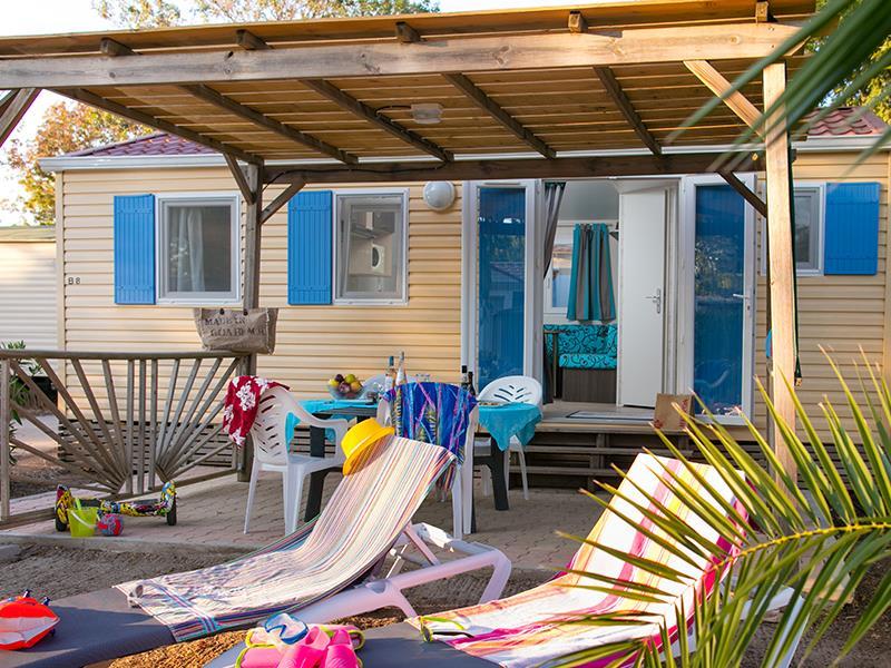 MOBIL-HOME COSY 4 (non climatisé) : 2 Chambres