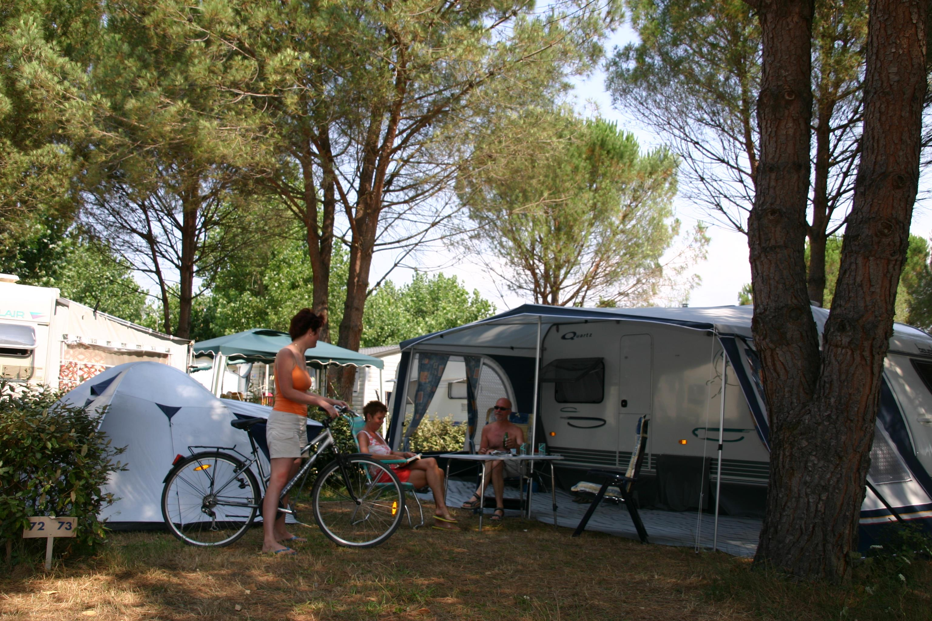 Emplacement - Emplacement Camping - Camping de Vaudois