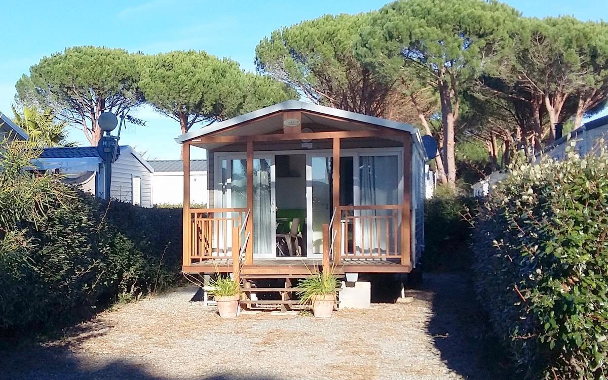 Location - Mobil-Home Trigano - Camping de Vaudois