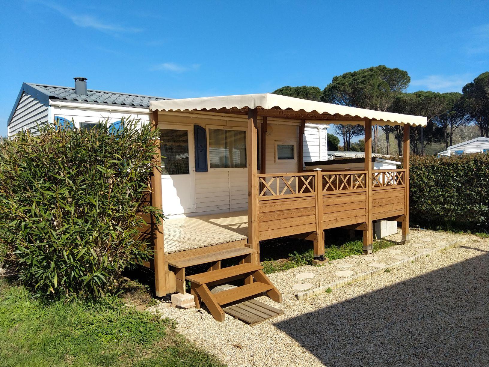 Location - Mobil-Home Rapidhome Loft - Camping de Vaudois