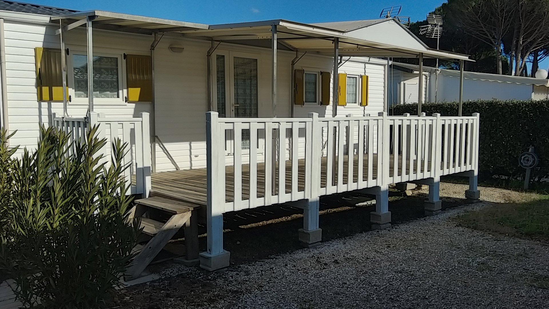 Location - Mobil-Home Shelbox 4 Pers. - Camping de Vaudois