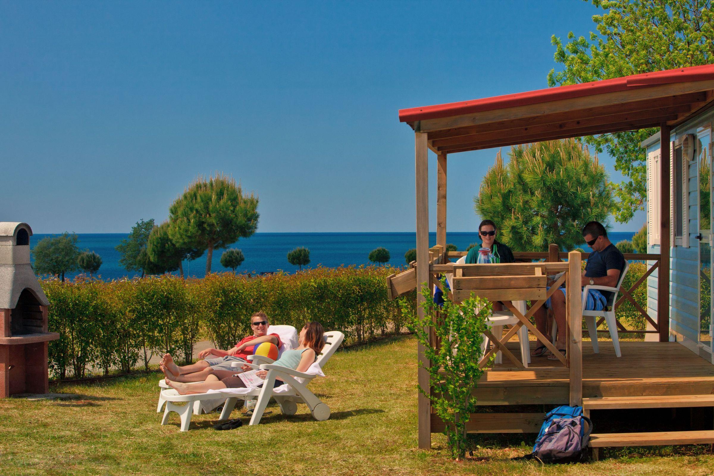 Location - Classic Mobile Home Verteneglio (4+2 Children Under 12) - Camping Park Umag