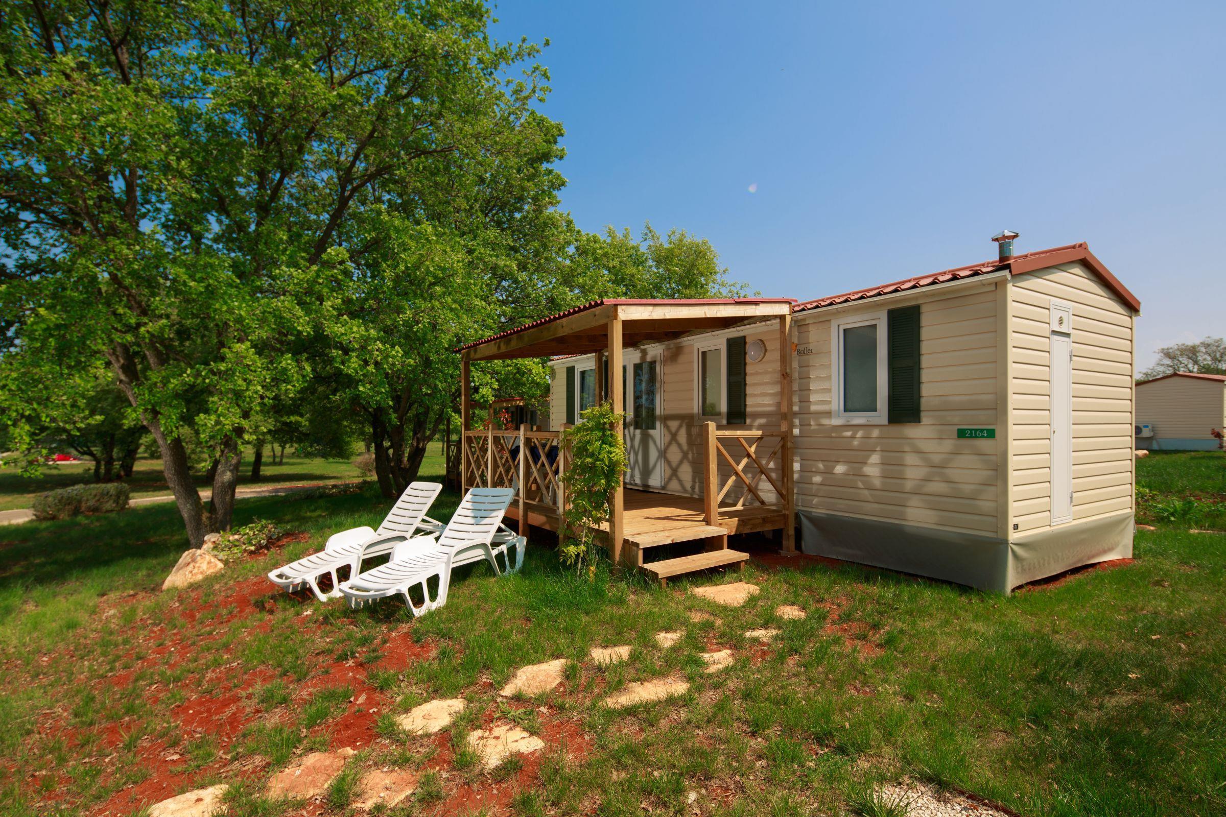 Location - Mobilhome Classique Côté Parc (4 Adultes + 2 Enfants) - Camping Park Umag