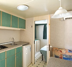 Location - Mobil Home Chalet - International Camping Mare e Pineta